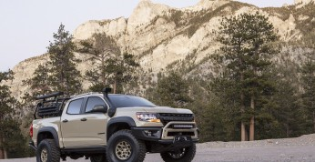 Chevrolet Colorado ZR2 Bison - terenowy pickup na horyzoncie