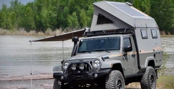 AEV Outpost II, czyli terenowy kamper na bazie Jeepa Wranglera