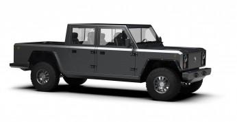 Bollinger B2 - terenowy pickup z napędem elektrycznym