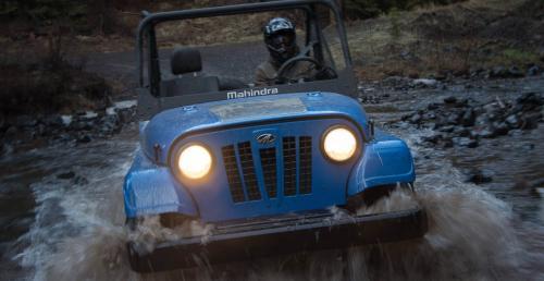 Mahindra Roxor - pojazd UTV na rynek amerykański