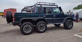 BAIC BJ80 6x6 - chiński klon potęznego Mercedesa G63 AMG 6x6