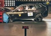 Nowe BMW X1 - test zderzeniowy EuroNCAP