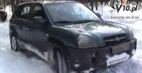 Hyundai Tucson i �nieg