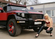 Modelka i Dartz Prombron Red Diamond Edition