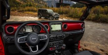 Jeep Wrangler 2018 - rzut okiem na wnętrze