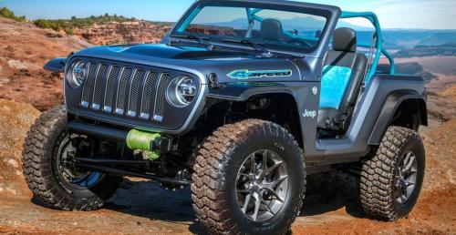 Jeep pokazał koncepty na Easter Jeep Safari 2018