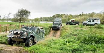 Rekordowa parada Land Roverów na 70-lecie marki