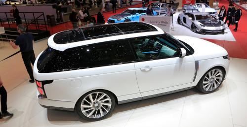 Range Rover SV Coupe zadebiutował na genewskim salonie