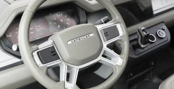 Nowy Land Rover Defender - pierwsza fotografia wnętrza