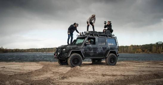 Jon Olsson i Mercedes G500 4×4²