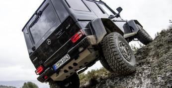 Mercedes G500 4x4² wkrótce zniknie z rynku