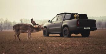 Mercedes X od Gruma - stworzony na polowania w terenie