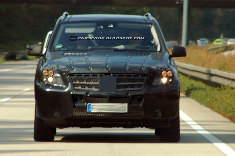 mercedes ml. Nowy Mercedes ML 2012