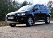 Nowy Mitsubishi Outlander po face liftingu 2010