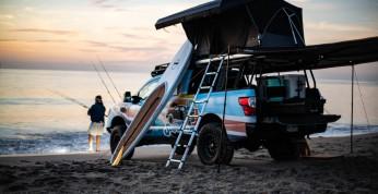 Nissan Titan Surfcamp - pickup dla miłośników sportów wodnych
