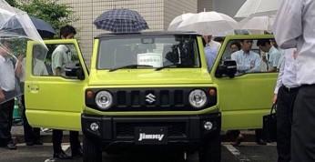 Suzuki Jimny - nowa terenówka bez kamuflażu