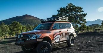 Nissan Armada Mountain Patrol zaprezentowany w pełnej okazałości