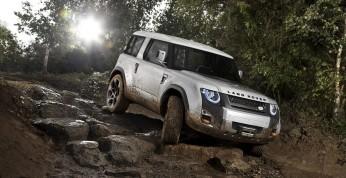 Land Rover Defender - nowa generacja z napędem hybrydowym i...
