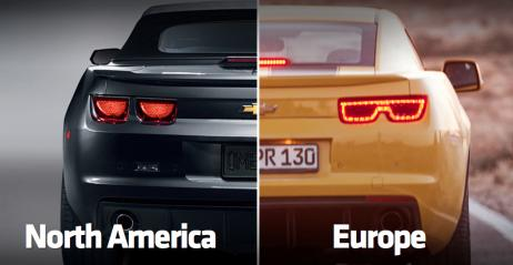 Camaro Wersja Europejska Vs Amerykańska
