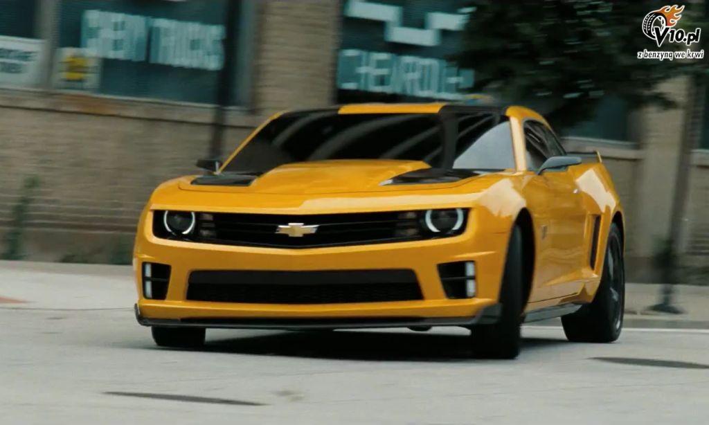 Camaro Transformers 3