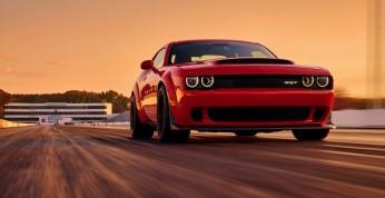 Dodge Challenger SRT Demon - nie do okiełznania (wideo)