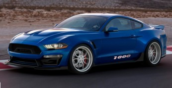 Shleby Mustang - 1000-konny muscle na targach SEMA