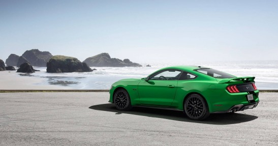 Ford Mustang Green