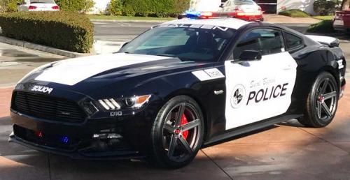 Mustang z piekła rodem - przed tym radiowozem nie uciekniesz