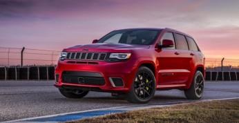 Jeep Grand Cherokee Trackhawk - moc i osiągi za połowę ceny...