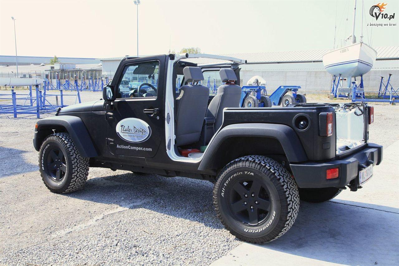 Jeep Wrangler Action Camper 40 Car Interior Design