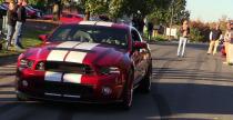 Shelby GT500 i palenie gumy zako�czone totalnym kataklizmem