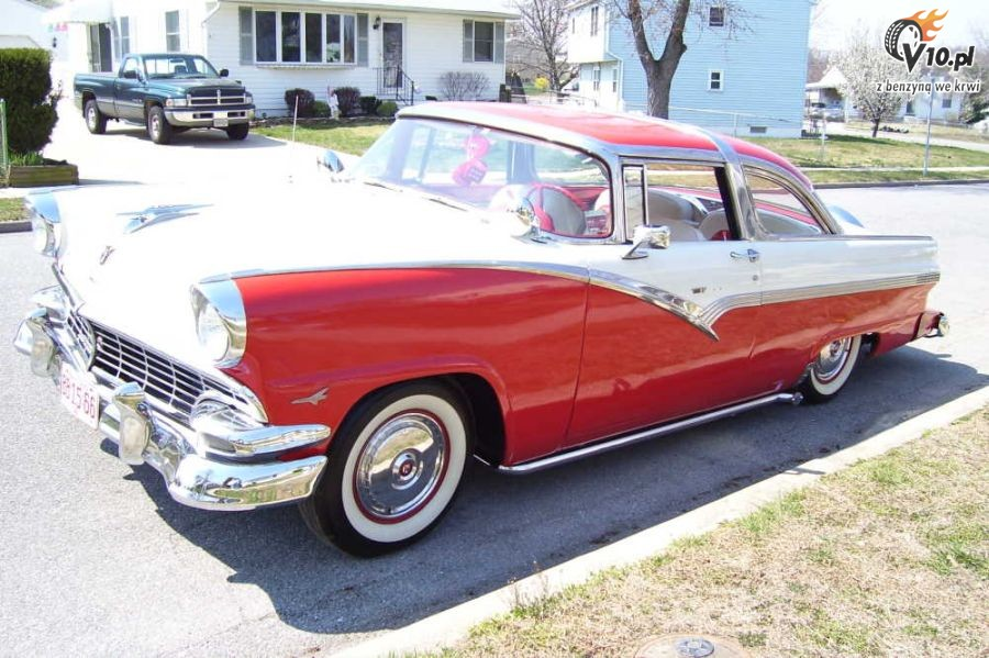 1955 1956 ford fairlane crown victoria pictures to pin on pinterest. Cars Review. Best American Auto & Cars Review