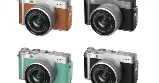 Fujifilm X-A7