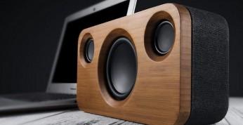 Platinet BAMBOO - głośnik bezprzewodowy wykończony drewnem