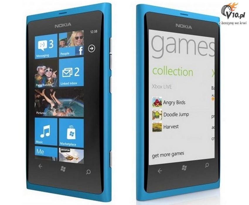 Smartfon , Nokia , Windows Phone 7 , Nokia Lumia 800 , Nokia Lumia 900