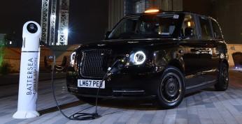 Debiut rynkowy londyńskiej taksówki w wersji PHEV