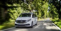 Mercedes EQV - elektryczny van w wersji produkcyjnej