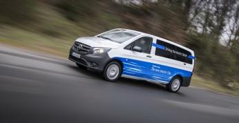 Mercedes eVito - dostawczak EV debiutuje w Niemczech