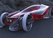 Nissan iV - lewitujący samochód z pajęczyny?
