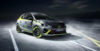 Opel Corsa-e Rally - elektryczna rajdówka i zapowiedź pucharu