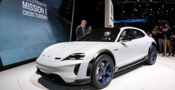 Porsche Taycan Cross Turismo oficjalnie trafi na rynek w 2020 roku