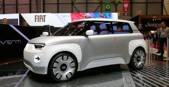 Fiat Centoventi - elektryczny koncept może zwiastować nową Pandę