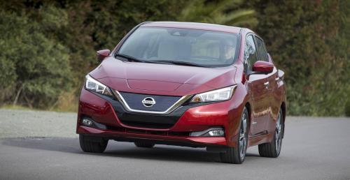 Nissan Leaf - druga generacja na nowych fotografiach