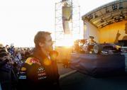Vettel świętuje drugi tytuł w rodzinnym mieście