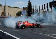 Ferrari F60 na ulicach Jerozolimy