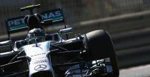 GP Abu Zabi - 3. trening: Rosberg wyprzedzi� Hamiltona