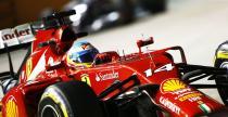 Zaskoczony Alonso mierzy w podium