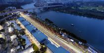 GP Singapuru 2014 - ustawienie na starcie wy�cigu