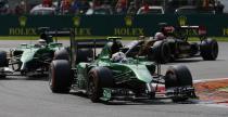 Bolidy Caterhama nie puszczane na GP USA
