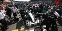 Mercedes chce rozwi�za� problemy na starcie do GP Singapuru